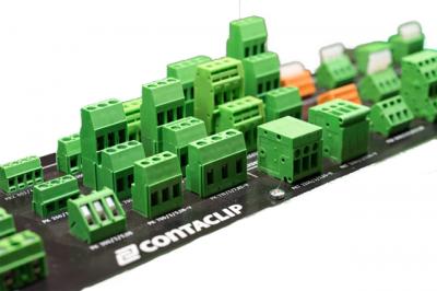 Svorky a konektory pro plošné spoje Conta-clip
