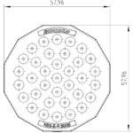 Kruhová průchodka membránová