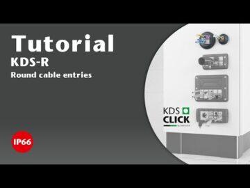Kabelové průchodky KDS-R (M20-M32)